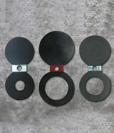 Carbon Steel Spectacle Blind Flanges