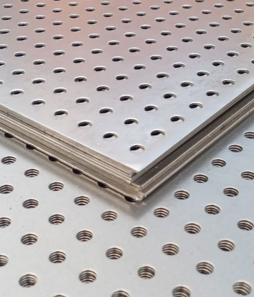 SS 304, 304L, 316, 316L Perforated Sheets