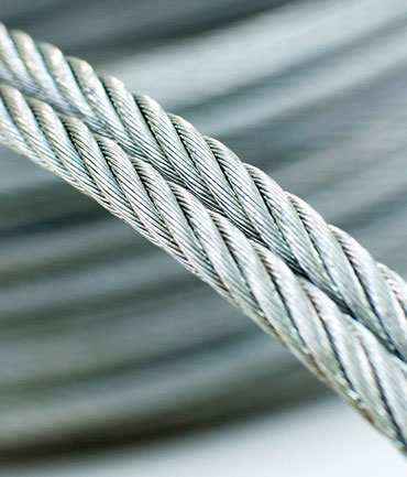 SS 304, 304L, 316, 316L Wire Ropes